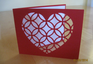 Hand Made Valentine Card - Love Card - Anniversary Card - Only $5