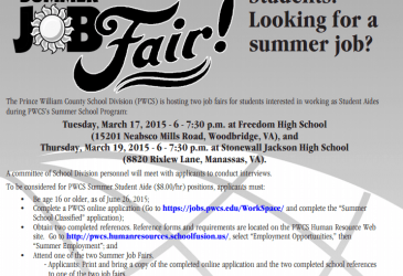 Students: Looking for a summer job?